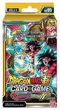 Carti De Joc Dragonball Super Cg Starter Deck The Crimson Saiyan