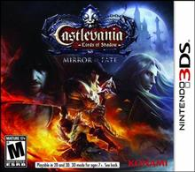 Castlevania Lords Of Shadow Mirror Of Fate Nintendo 3Ds