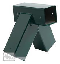 Coltar Forma Patrata Unghi Oblic - Verde