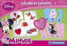 Compendiu Minnie-Culori Si Cuvinte - Clementoni 60204
