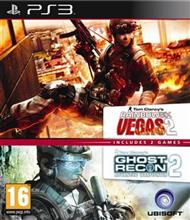 Compilation Ghost Recon Advanced Warfighter 2 & Rainbow Six Vegas 2 Ps3