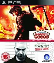 Compilation Splinter Cell Double Agent & Rainbow Six Vegas Ps3