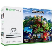 Consola Microsoft Xbox One S 500 Gb Alb + Minecraft Complete