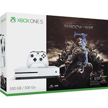 Imagine indisponibila pentru Consola Microsoft Xbox One Slim 500Gb Alb + Joc Shadow Of War (Download Code)