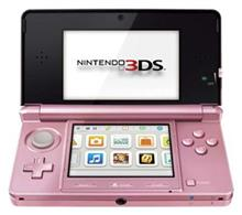 Consola Nintendo 3Ds Coral Pink