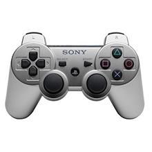 Controller Dual Shock 3 Silver Ps3 So-9289517
