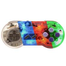 Controller Snes Usb Blue Red Greenled Pc
