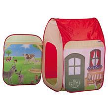 Cort De Joaca John Farm Cu Figurina Schleich 72X72x105 Cm