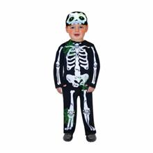 Costum Carnaval Copii Schelet 1-2 Ani