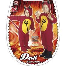 Costum Copii Devi Fancy Dress Toddler Costume For Halloween Lucifer Satan 104Cm