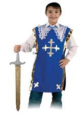 Costum Pentru Serbare Muschetarul Athos Cu Sabie 116 Cm imagine