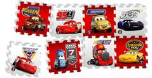 Covor Puzzle Din Spuma Cars 3 Race Of A Lifetime 8 Piese imagine