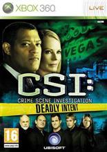 Csi Crime Scene Investigation Deadly Intent Xbox360