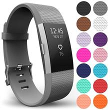 Curea Ceas Yousave Fitbit Charge 2 Small Grey