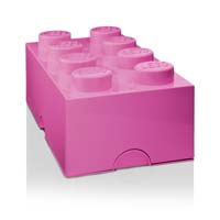 Cutie Depozitare Lego 8 Violet
