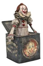 Diamond Select Toys Dc Gallery: It - Chapter 2 Pennywise In A Box Pvc Statue (Aug192719)