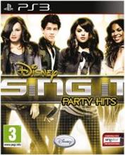 Disney Sing It Party Hits Solus Ps3