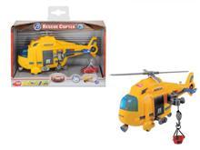 Elicopter Rescue 18 Cm Cu Sunet Si Lumina