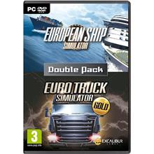 Euro Truck Simulator Gold + European Ship Simulator Double Pack Pc