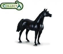 Figurina Din Plastic Cal Armasar Arab Negru