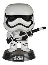 Figurina Funko Pop! Episode Vii The Force Awakens First Order Stormtrooper With Blaster Vinyl