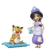 Figurina Hasbro Disney Princess Little Kingdom Small Doll & Friend Jasmin'S Slumber Party