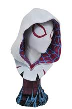 Figurina Legends In 3D Marvel Spider Gwen Comic Scale Bust