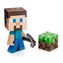 Figurina Minecraft Steve Collectable Vinyl 15 Cm