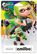 Figurina Nintendo Amiibo Splatoon Inkling Girl Lime Green Nintendo Wii U