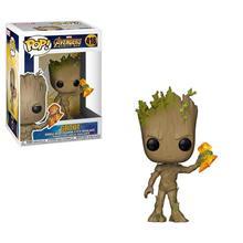 Figurina Pop Infinity War Groot Stormbreaker