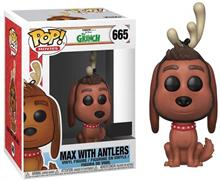 Figurina Pop Movies The Grinch Max With Antlers Special Edition Vinyl Figure