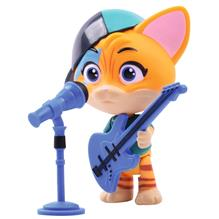 Figurina Smoby 44 Cats Lampo 7 7 Cm Cu Microfon Si Chitara