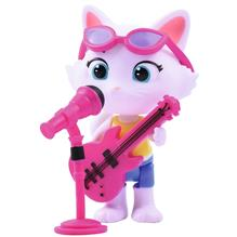 Figurina Smoby 44 Cats Milady 7 7 Cm Cu Microfon Si Chitara Bass imagine
