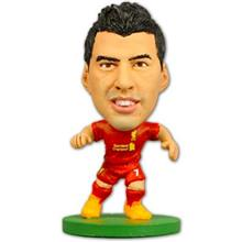 Figurina Soccerstarz Liverpool Luis Suarez