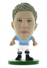 Figurina Soccerstarz Man City Kevin De Bruyne Home Kit