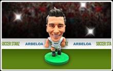 Figurina Soccerstarz Real Madrid Alvaro Arbeloa