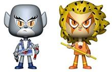Figurina Vynl Thundercats Classic Panthro + Cheetara