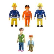 Figurine Fireman Sam 5 Pack