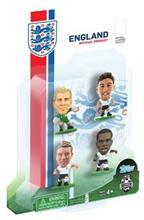 Figurine Soccerstarz England 4 Figurine Hart Jones Lallana And Sturridge 2014