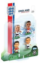 Figurine Soccerstarz England 4 Figurine Walcott Lampard Oxlade Chamberlain And Barkley 2014