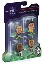 Figurine Soccerstarz France 4 Figurine Clichy Lloris Remy And Ribery 2014