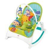 Fisher Price - Rainforest Newborn Toddler Portable Rocker (Cmr10)