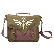 Geanta Legend Of Zelda Gold Messenger Logo