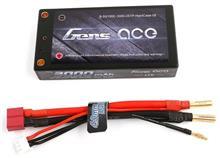 Gens Ace 3000Mah 7 4V 50/100C 2S1p T-Plug Hardcase Battery imagine