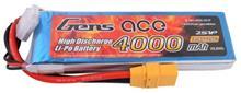 Gens Ace 4000Mah 7.4V 25C 2S1p Xt90 imagine