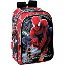 Ghiozdan Scoala Spiderman 2 Traffic Perona