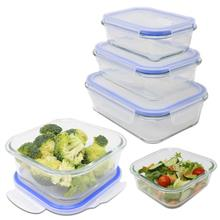 Glass Food Storage Containers - Set Of 5 M&W