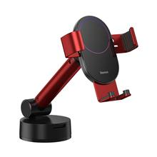 Gravity Car Mount For Baseus Tank Phone With Suction Cup (Red)