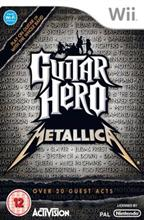 Guitar Hero Metallica Nintendo Wii