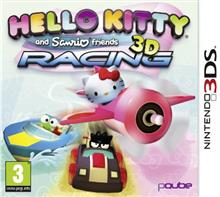 Hello Kitty And Sanrio Friends 3D Racing Nintendo 3Ds